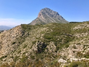 Montgo the Eye and descent route